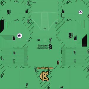 Liverpool GoalKeeper Away Kit