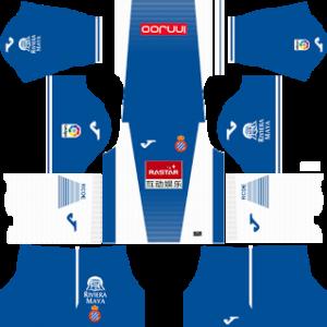RCD Espanyol Kits 2017/2018 Dream Leagues Soccer