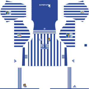 Real Sociedad Kits 2017/2018 Dream League Soccer