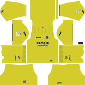 Villarreal CF Kits 2017/2018 Dream League Soccer