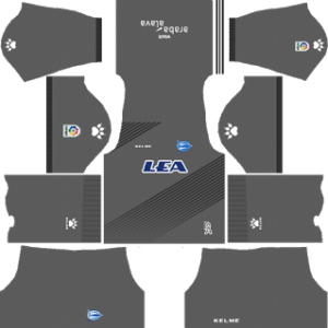 Deportivo Alaves Goalkeeper Home Kit
