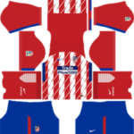 Atletico Madrid Kits 2017/2018 Dream League Soccer