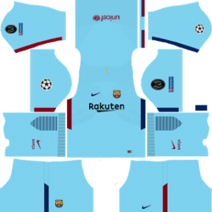 Barcelona UCL Away Kit