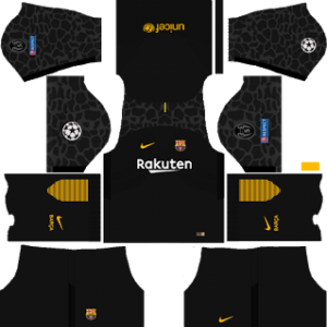 Barcelona UCL Goalkeeper Away Kit
