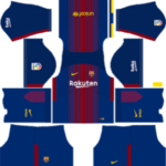 Barcelona Kits 2017/2018 Dream League Soccer