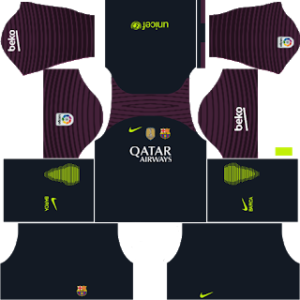 Barcelona Goalkeeper Home Kit