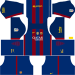 Barcelona Kits 2016/2017 Dream League Soccer