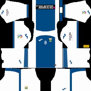 CD Leganes Kits 2017/2018 Dream League Soccer