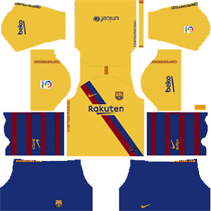 Barcelona Away Kit 2019-20