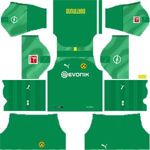 Borussia Dortmund Goalkeeper Home Kit