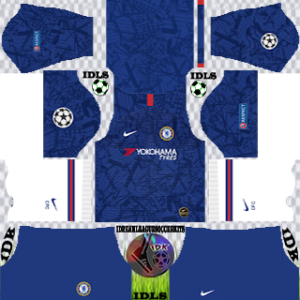 Chelsea UCL Home Kit