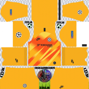 Chelsea UCL Goalkeeper Home Kit