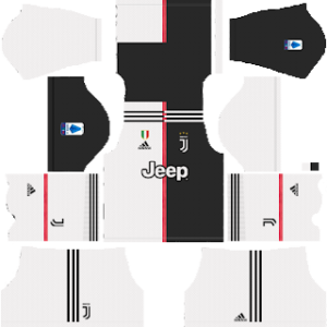 Juventus Home Kit (white shorts)