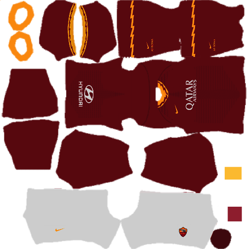 AS Roma Kits 2020 Dream League Soccer
