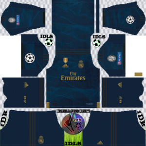 Real Madrid UCL Away Kit