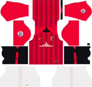 Urawa Red Diamonds FC Home ACL Kit