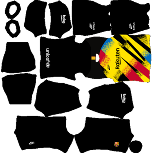 Barcelona UCL Goalkeeper Third Kit