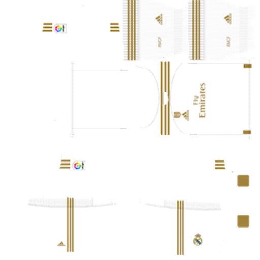Real Madrid Kits 2020 Dream League Soccer Fts Dls Kits