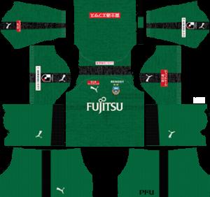 Kawasaki Frontale Goalkeeper Home Kit