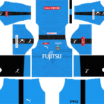 Kawasaki Frontale kits 2019-2020 Dream League Soccer