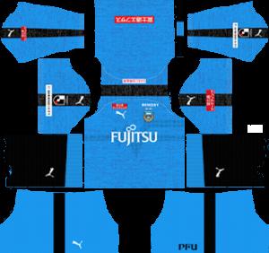 Kawasaki Frontale kits 2019-2020 Dream League Soccer