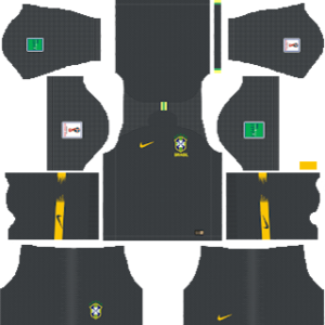 Brazil Goalkeeper Away Kit
