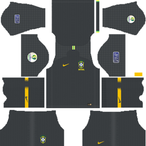 Brazil Copa America Goalkeeper Away Kit