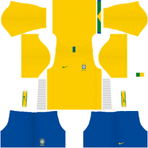 Brazil Kits 2018/2019 Dream League Soccer