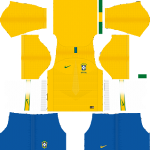 Brazil World Cup Kits 2018 Dream League Soccer