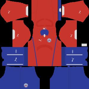 Chile Kits 2015/2016 Dream League Soccer