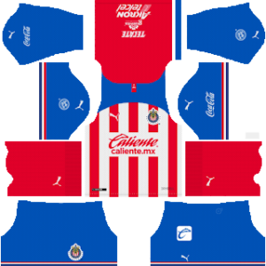 Chivas De Guadalajara Kits 2019/2020 Dream League Soccer