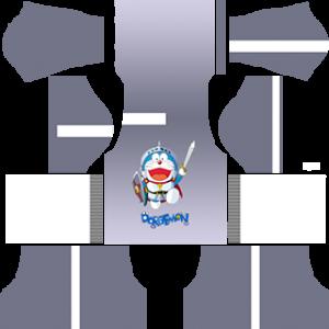 Doraemon Goalkeeper Home Kit