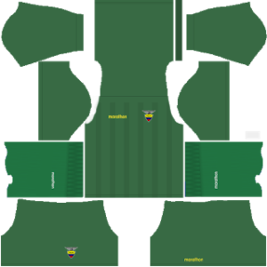 Ecuador Goalkeeper Home Kit