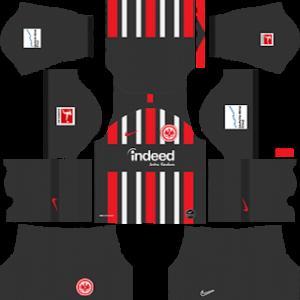 Eintracht Frankfurt Kits 2019/2020 Dream League Soccer