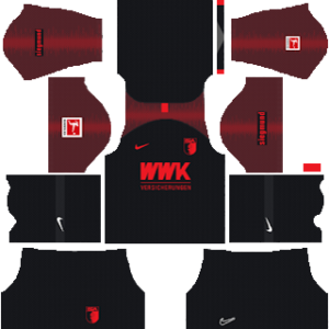 FC Augsburg Away Kit