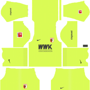 FC Augsburg Goalkeeper Home Kit
