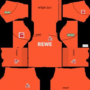 FC Köln Goalkeeper Home Kit