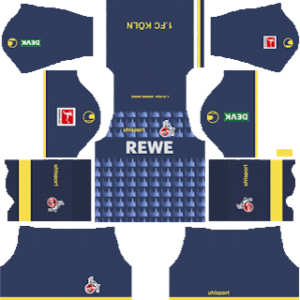 FC Köln Third Kit