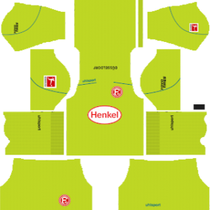Fortuna Düsseldorf Goalkeeper Home Kit