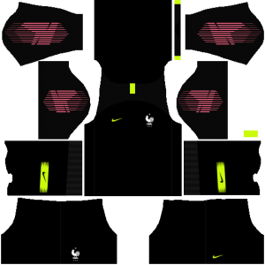 France Goalkeeper Home Kit