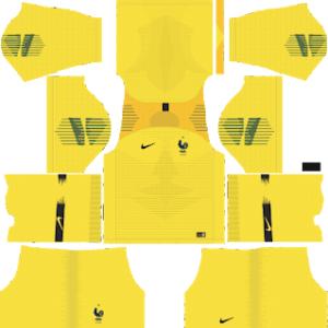 France World Cup 2018 Goalkeeper Home Kit