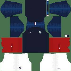 France Kits 2018/2019 Dream League Soccer