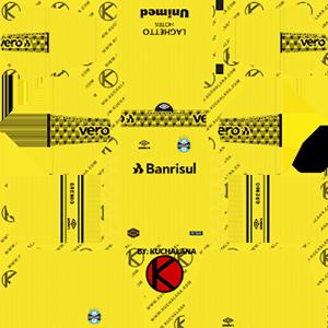 Gremio Goalkeeper Home Kit