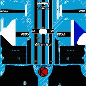 Gremio Kits 2019/2020 Dream League Soccer
