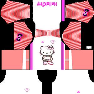 Hello Kitty Goalkeeper Home Kit