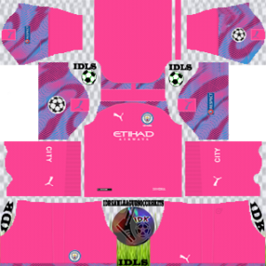 Manchester City UCL GoalKeeper Away Kit