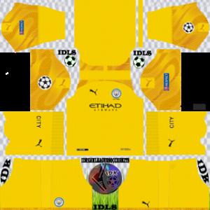 Manchester City UCL Goalkeeper Third Kit