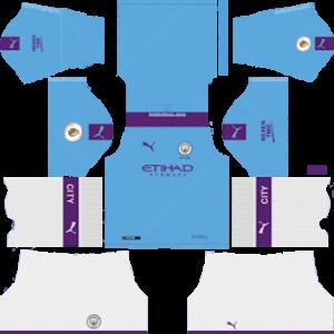 Manchester City Kits 2019/2020 Dream League Soccer