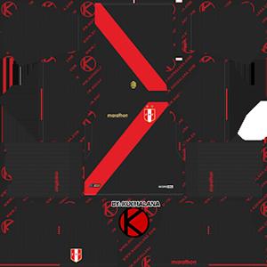 Peru Copa America Away Kit