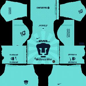 Pumas UNAM Goalkeeper Away Kit